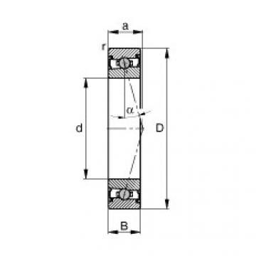 Bearing HCS71909-C-T-P4S FAG