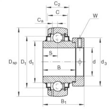 Bearing GE50-KLL-B INA