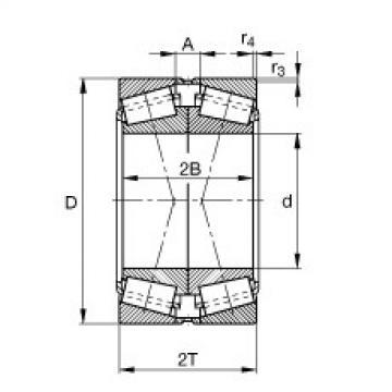 Bearing 31318-N11CA-A60-80 FAG