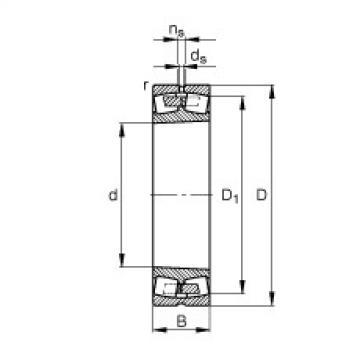Bearing 249/850-B-K30-MB FAG