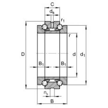 Bearing 234710-M-SP FAG
