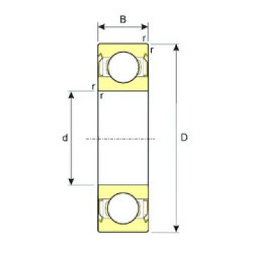 Bearing SS 628/4-ZZ ISB