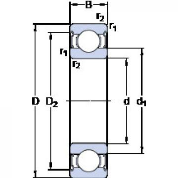 Bearing 624-2Z SKF