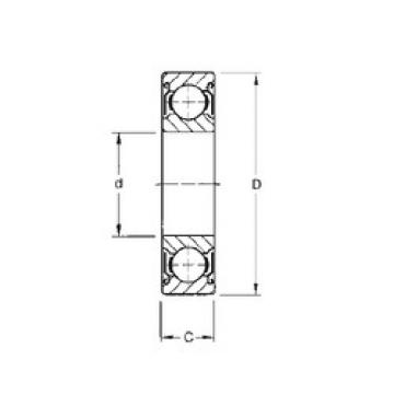 Bearing W6305-ZZ CYSD