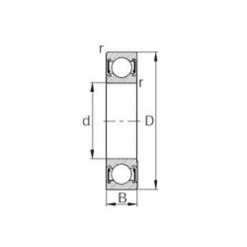 Bearing 6820-2RZ CYSD