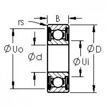 Bearing SR6ZZ AST