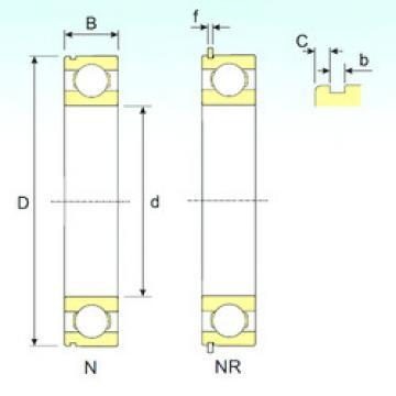 Bearing 6214 NR ISB
