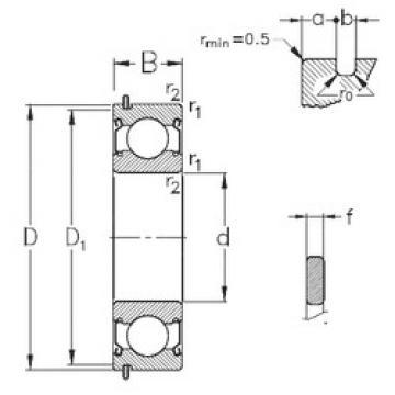 Bearing 6215-2Z-NR NKE