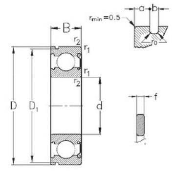 Bearing 6203-Z-NR NKE