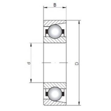 Bearing M20 ISO