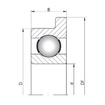 Bearing FL618/4 ISO