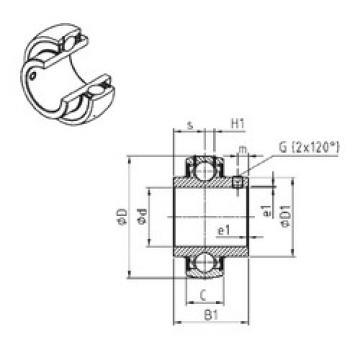 Bearing UC317-52 SNR