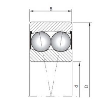 Bearing 2211-2RS ISO