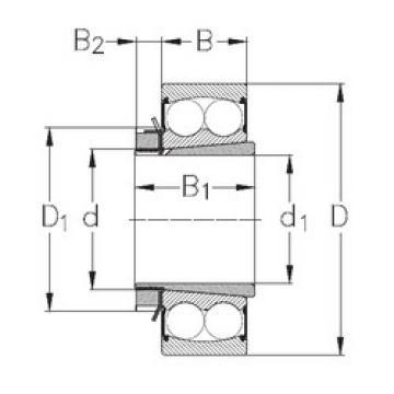Bearing 2205-K-2RS+H305 NKE