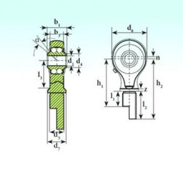 Bearing TSM 12-00 BB-E ISB