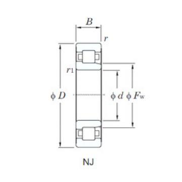 Bearing NJ322 KOYO