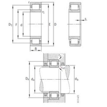 Bearing NU2344-EX-M1 FAG