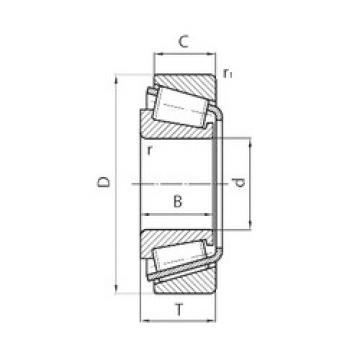 Bearing BT1B 332909A/QCL7C SKF