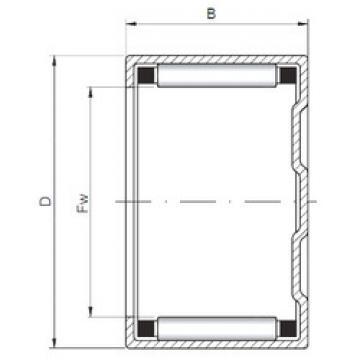 Bearing BK324224 ISO