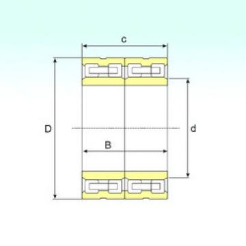 Bearing FCD 80112410 ISB