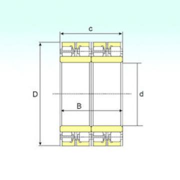 Bearing FCDP 184256800 ISB