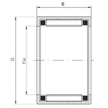 Bearing HK223016 ISO