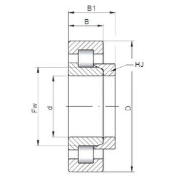 Bearing NH2238 ISO