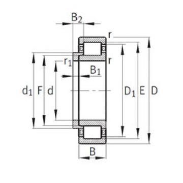 Bearing NJ334-E-M1+HJ334-E FAG
