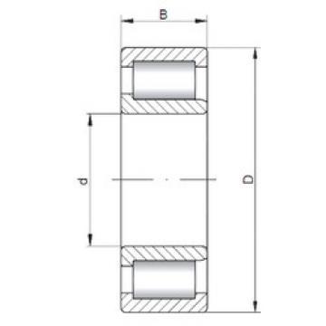 Bearing NJF2309 V ISO