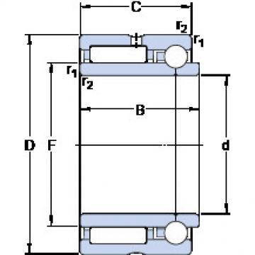 Bearing NKIB 5902 SKF