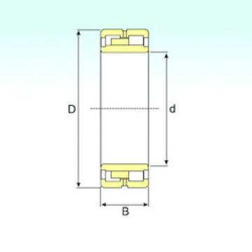 Bearing NNU 40/750 M/W33 ISB