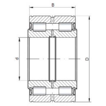 Bearing NNF5034 V ISO