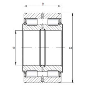 Bearing NNF5052X V ISO