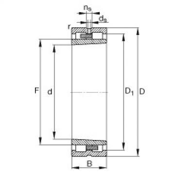 Bearing NNU4960-S-K-M-SP FAG