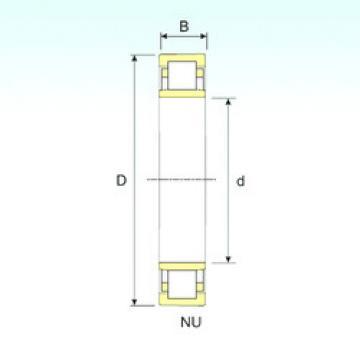 Bearing NU 18/900 ISB