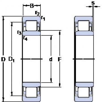 Bearing NU 222 ECM SKF