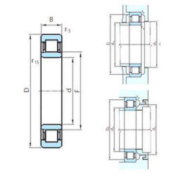 Bearing NU1056 PSL