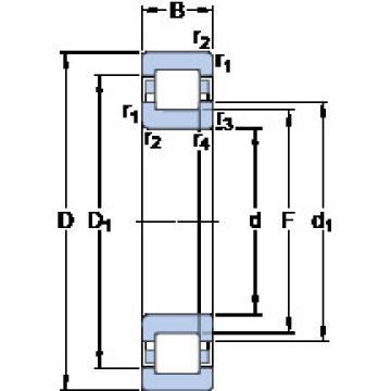 Bearing NUP 310 ECML SKF