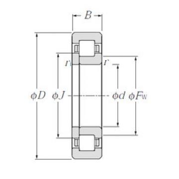Bearing NUP2311E CYSD