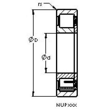 Bearing NUP2317 EM AST
