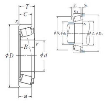Bearing HR30205J NSK