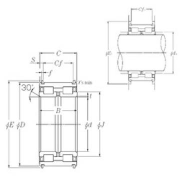 Bearing SL04-5019NR NTN