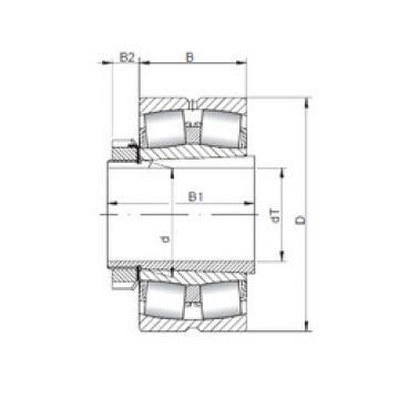 Bearing 23936 KCW33+H3936 ISO