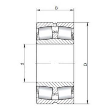 Bearing 23934W33 ISO
