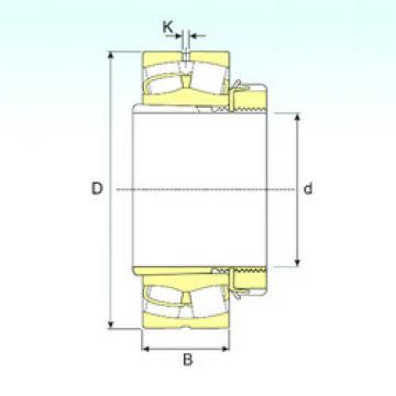 Bearing 23952 EKW33+OH3952 ISB