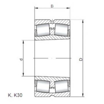 Bearing 23930 KW33 ISO
