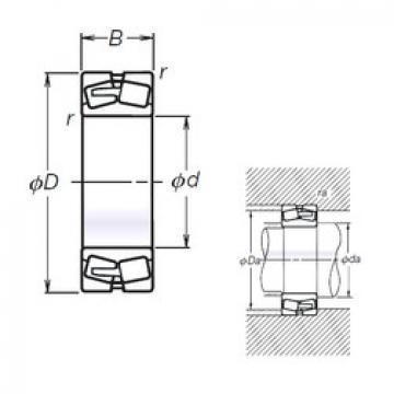 Bearing TL23156CAE4 NSK