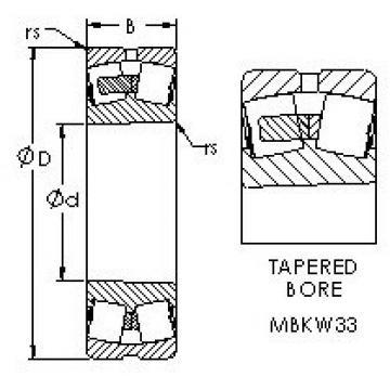 Bearing 23956MBKW33 AST