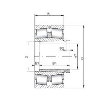 Bearing 23956 KCW33+AH3956 ISO