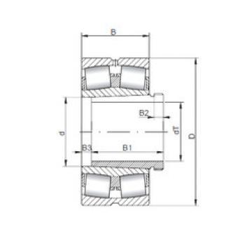 Bearing 23968 KCW33+AH3968 ISO